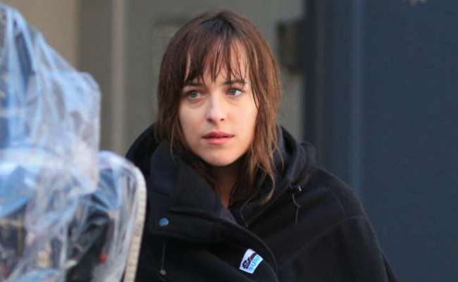 Dakota Johnson Gets In The Holiday Spirit Even If Ellen