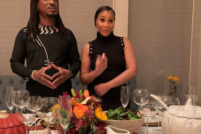 Tamar Braxton's Boyfriend, David Adefeso Shares Romantic Footage From Their Last Night At The Exotic Resort