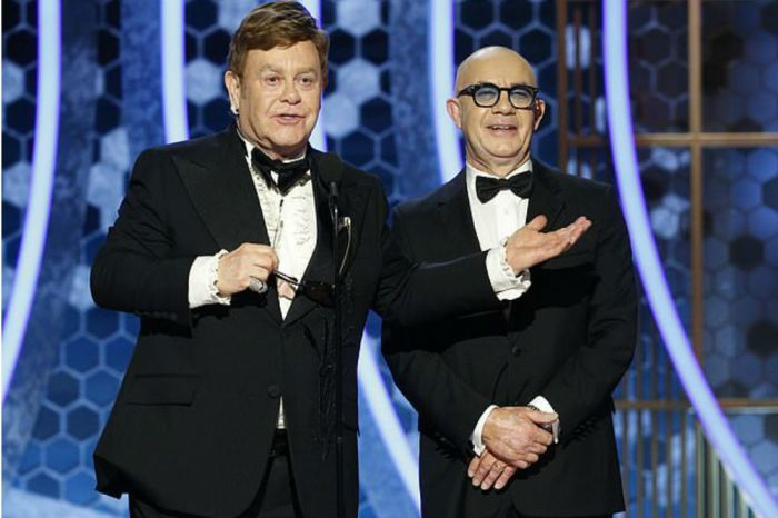 Elton John & Bernie Taupin Win Their First Award Together At Golden Globes After 52-Year Professional Relationship