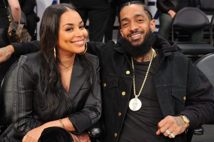 Lauren London Has A Heavy Heart Today After She Accepts Nipsey Hussle's Posthumous First Grammy For Best Rap Performance