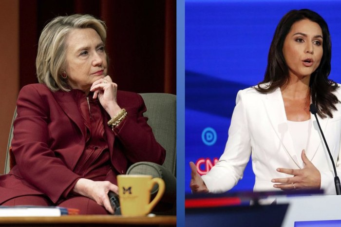 Hillary Clinton Comes Up With Clever Tactics To Avoid Getting Served With Tulsi Gabbard's $50 Million Lawsuit