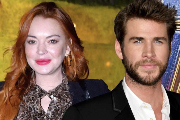 Lindsay Lohan Finally Explains Her Flirty Comments Under Liam Hemsworth's Posts!