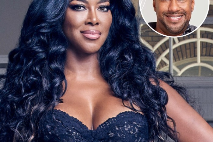 Kenya Moore Shares A Fairytale Video Featuring Marc Daly And Brooklyn Looking Out The Window: 'Snow In Atlanta! Anything Is Possible'