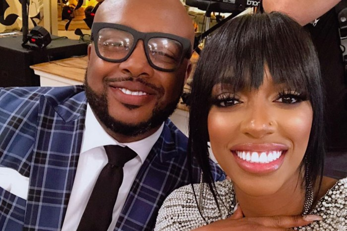 Porsha Williams And Fiancé Dennis McKinley Wear Tight Latex Dress, Wig, And Lipstick To Win Drake's 'Flip The Switch' Challenge In Viral Video