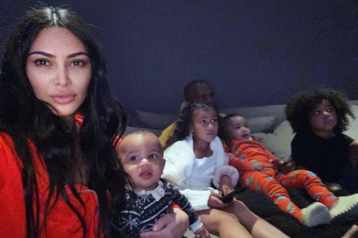 Kim Kardashian Needs Your Help Entertaining Her Children In Thier Mansion Home