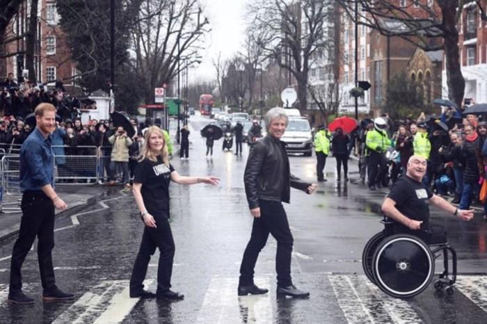 Prince Harry And Jon Bon Jovi Recreate The Beatles Abbey Road Album As Coronavirus Threatens The Invictus Games