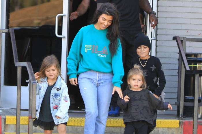 KUWK: Kourtney Kardashian Says She'll 'Never Apologize' For Kissing Her 3 Kids On The Mouth!