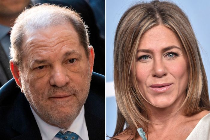 Harvey Weinstein Shockingly Argued Jennifer Aniston 'Should Be Killed' In An Email According To Leaked Court Documents - Report!
