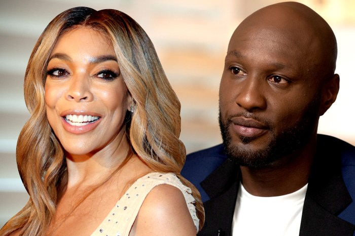 Wendy Williams Slams Lamar Odom And Sabrina Parr After Announcing Show About Their Relationship - 'No One Cares!'