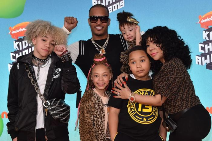 Tiny Harris Shows Fans A Sneak Peek From What They Can See Today On 'Friends And Family Hustle'