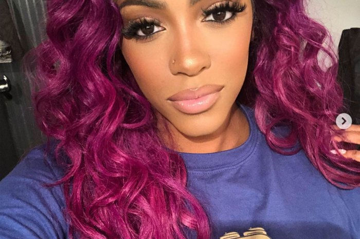 Porsha Williams Looks Gorgeous In Lavender - Check Out Her Jaw-Dropping Outfit