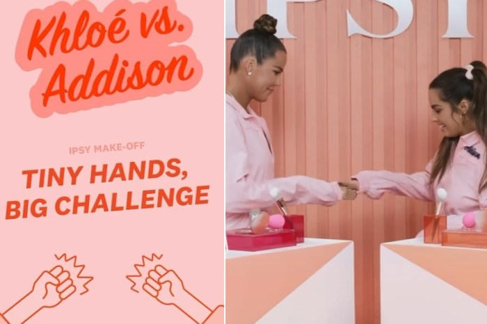 Khloe Kardashian & Addison Rae Have A Blast While Completing Hilarious Makeup Challenge - Watch Their Video Here