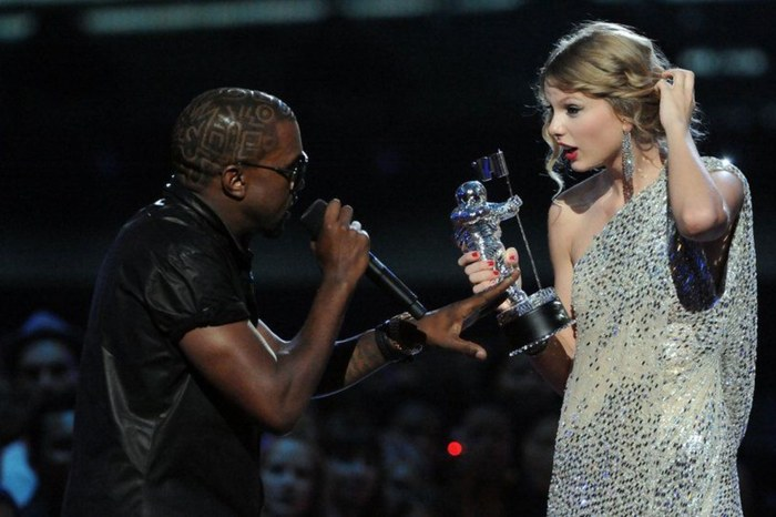 Taylor Swift's Fans Say 'Obsessed' Kanye West Is Trying To Get Headlines And Her Attention By Promising To Get Her Masters Back From Scooter Braun