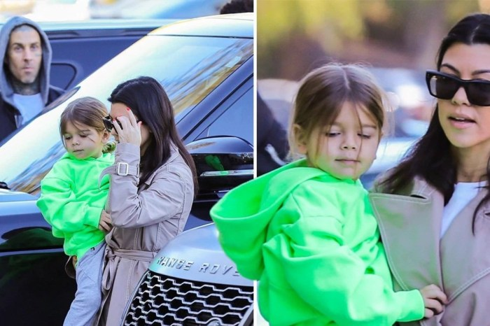 Kourtney Kardashian And Travis Barker Share a Cup Of Matcha Latte - See Pic