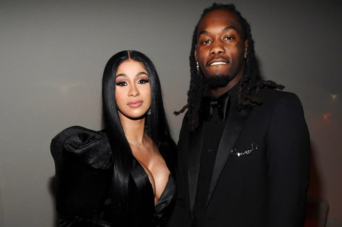 Cardi B And Offset Kiss At Her Birthday Party Less Than A Month After Filing For Divorce!