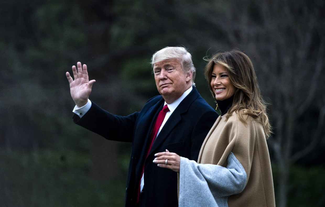 """""""melania-trumps-big-toothy-smile-during-public-appearance-fuels-wild-theory-that-donald-trump-was-using-a-flotus-body-double-fakemelania"""""""