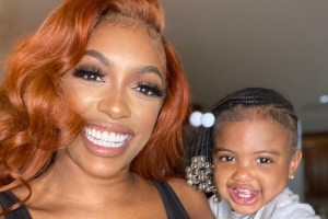 Porsha Williams' Photo Featuring Daydreaming Pilar Jhena Melts Fans' Hearts