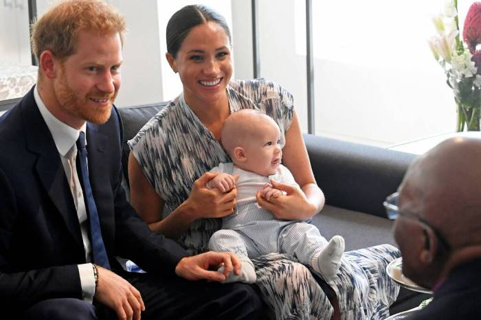 Prince Harry And Meghan Markle Settle With Photo Agency Who Took Pictures Of Their Baby Boy Without Permission