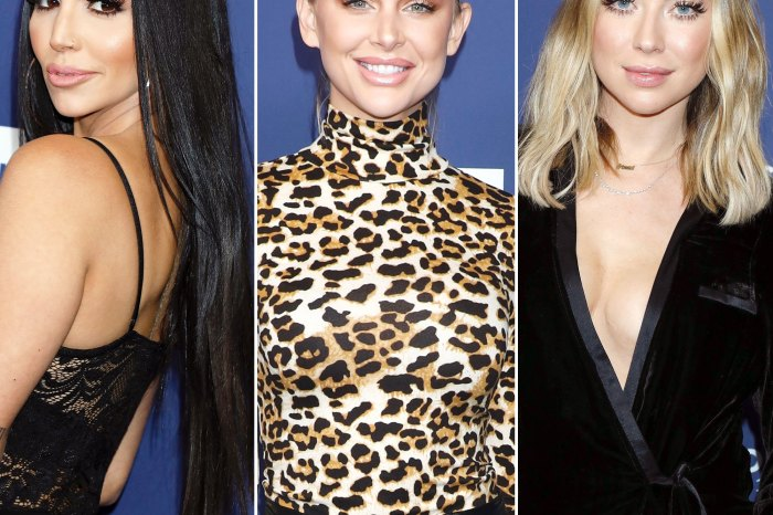 Scheana Marie Opens Up About Her Stassi Schroeder And Lala Kent Falling Out - Here's Why She's Not Planning On Ever Fixing Their Friendship!
