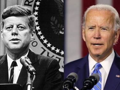 joe biden and john f kennedy