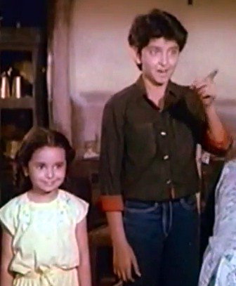 Image result for hrithik childhood pictures