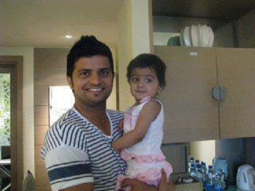Suresh Raina family photos | Celebrity family wiki