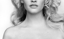 Lara Stone Topless (2 Photos)