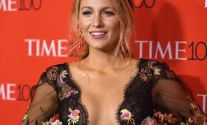 Blake Lively Cleavy At 2017 Time 100 Gala In NYC
