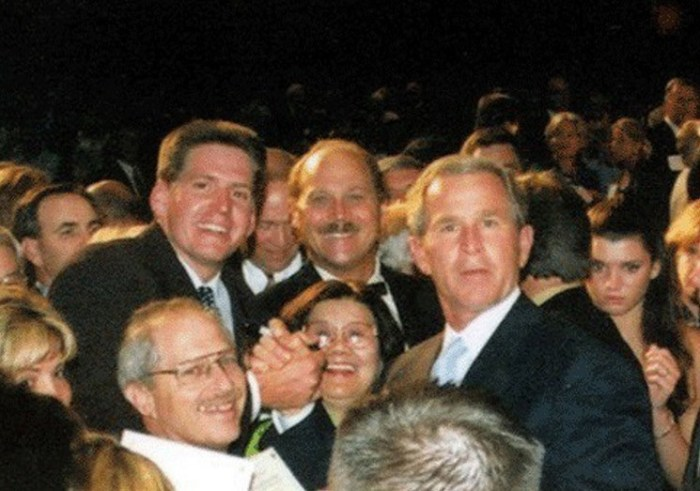 During his heyday, Rich Wyatt hobnobbed with the rich and famous, including former president George W. Bush.