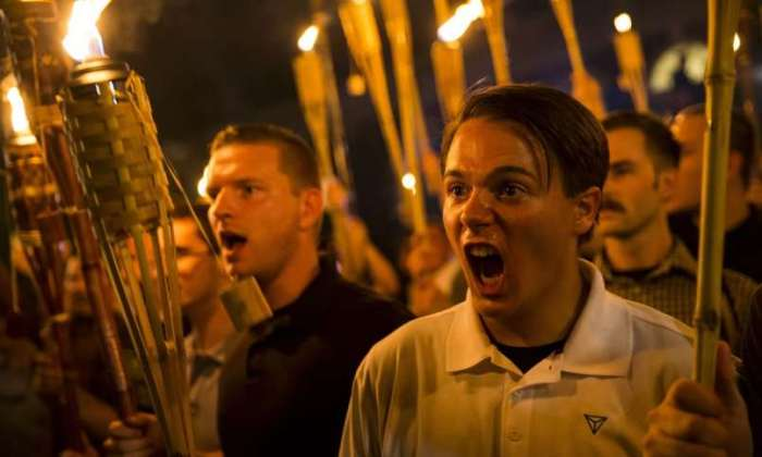 Unite the Right Rally (Courtesy of Guardian)