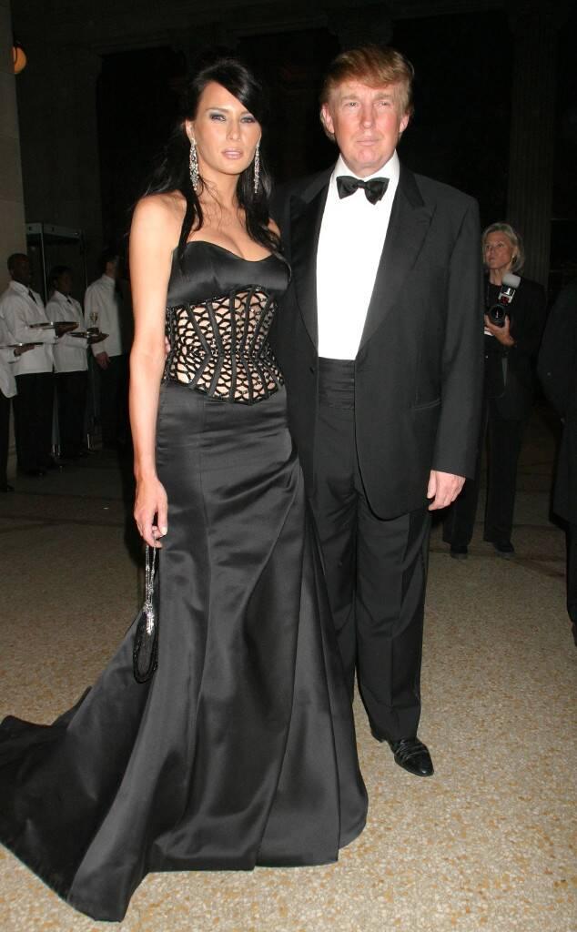 Melania Trump, Donald Trump, Met Gala 2004