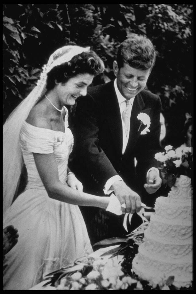 Jackie Onassis, John Kennedy