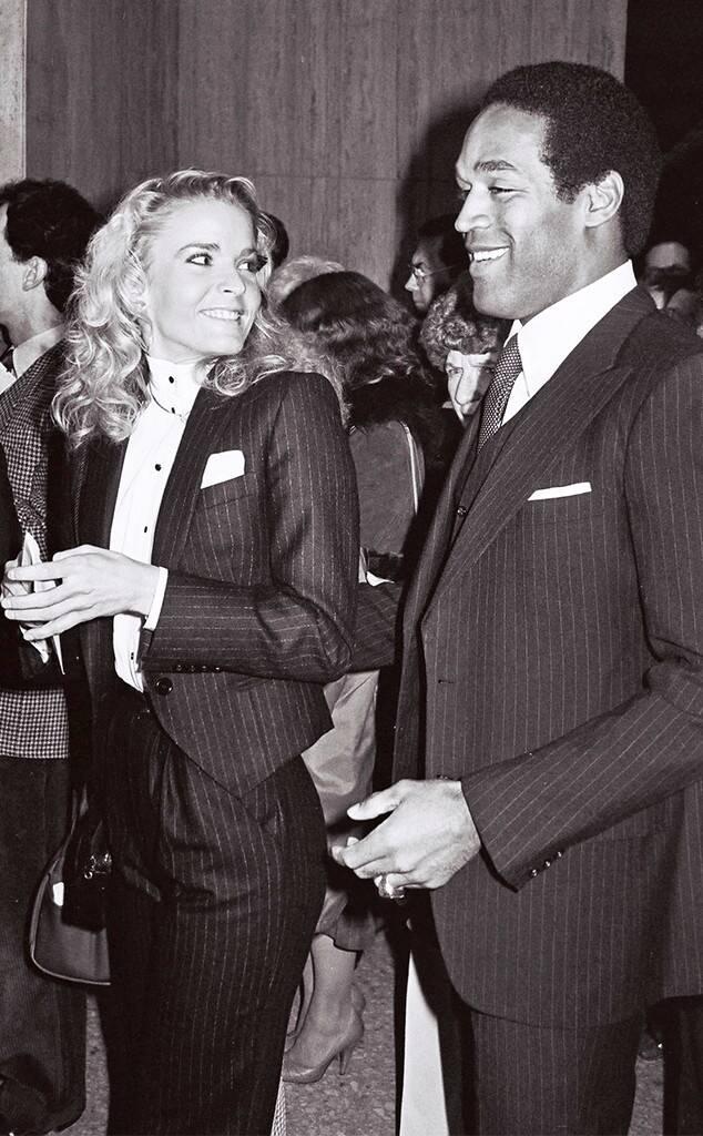 O.J. Simpson, Nicole Brown Simpson, 1982 Sophisticated Ladies Event