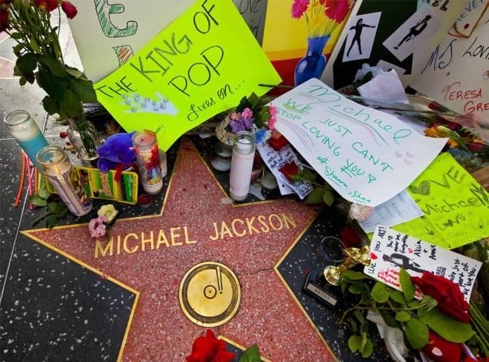 Michael Jackson, Death, Hollywood Walk of Fame