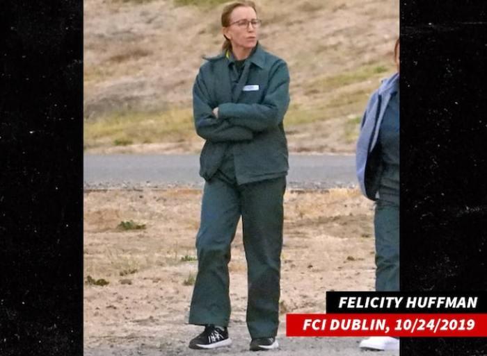 Felicity Huffman in jail
