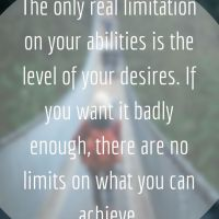 Brian Tracy on Limits