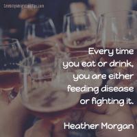 Heather Morgan on Fighting Disease