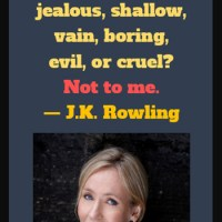 J K Rowling: On Being Fat