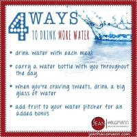 Four Ways to Drink More Water