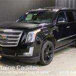 Cadillac Escalade ES image.