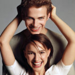 Heyden Christensen and Natalie Portman