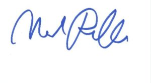 Mark Ruffalo signature image.