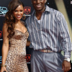 Tyrese with his ex Meagan Good