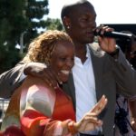 Tyrese and his mother