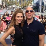Vin Diesel and Maria Menounos image.