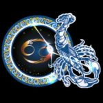 Zodiac sign cancer image.