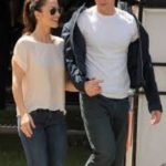 Chris Evans dated Lily Collins