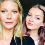 Gwyneth Paltrow with her daughter Apple Martin