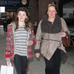 Maisie Williams with her mother Hilary Pitt