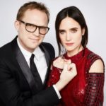 Paul Bettany with his wife Jennifer Connelly